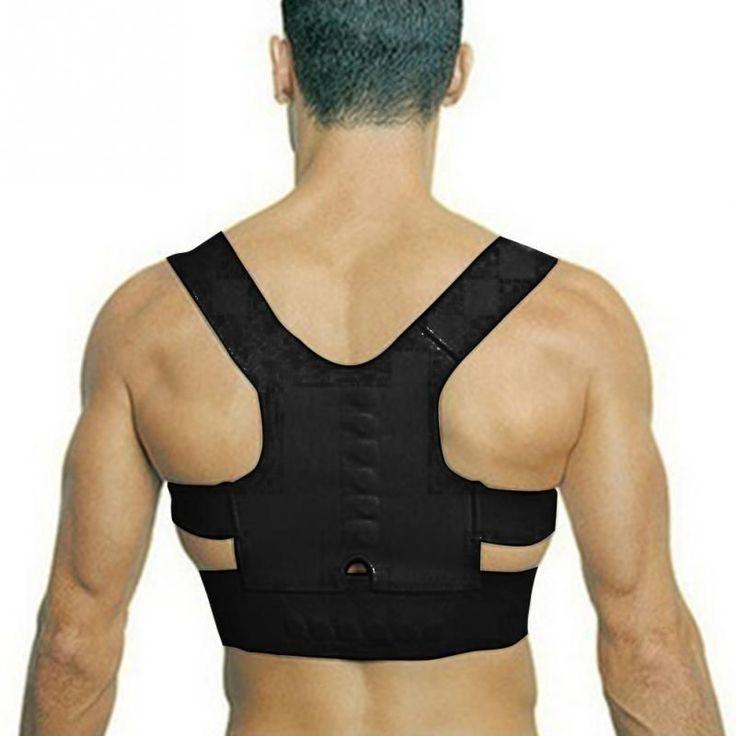Hot Adjustable Back Therapy Shoulder Magnetic Posture Corrector for Girl Student Child Men Women Adult Braces Magnet Supports