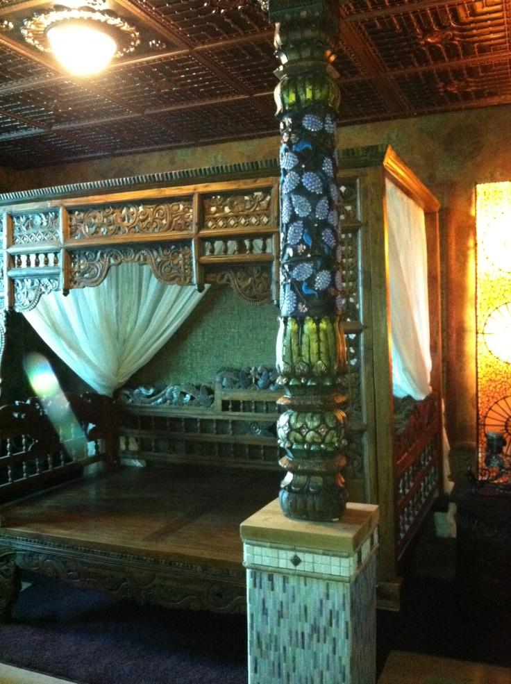 PVC ceiling tiles design 301 Antique Copper