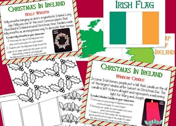 Holidays Around the World - Ireland! Christmas in Ireland - FREE