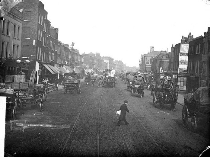 Commercial Road 1880s : Jack the Ripper patch !