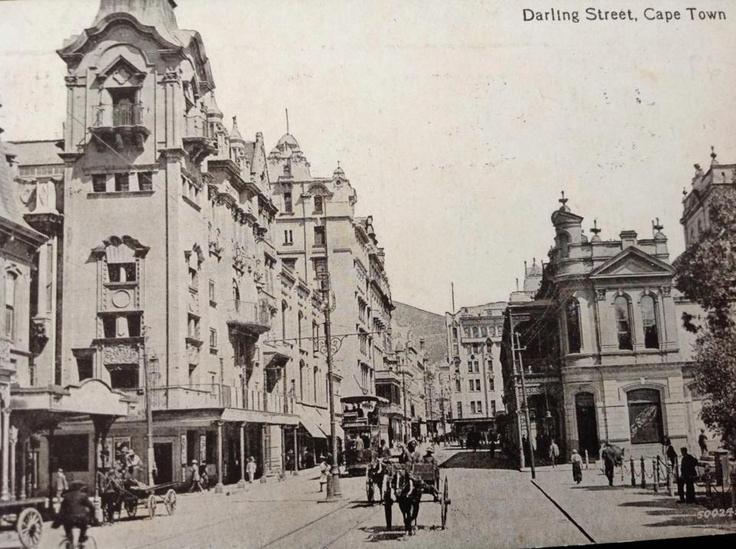 Darling Street, Cape Town in 1919