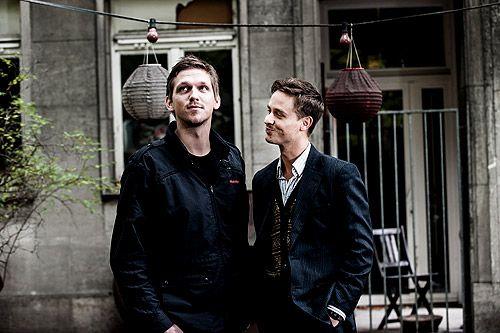 Jan Ole Gerster und Tom Schilling ;)