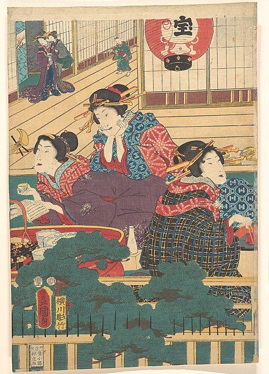 Utagawa Kunisada (1786–1864) - Edo period (1615–1868)