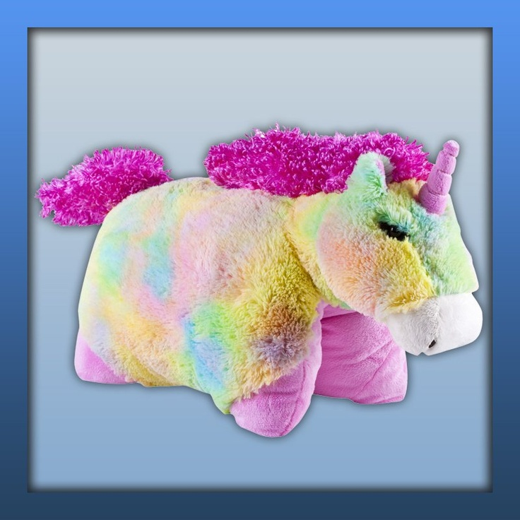 Fantasy Pillow Pets. Rainbow Unicorn, Http://www.pillowpets.co