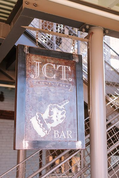 JCT Kitchen & Bar in Atlanta, love this idea for signage down the road