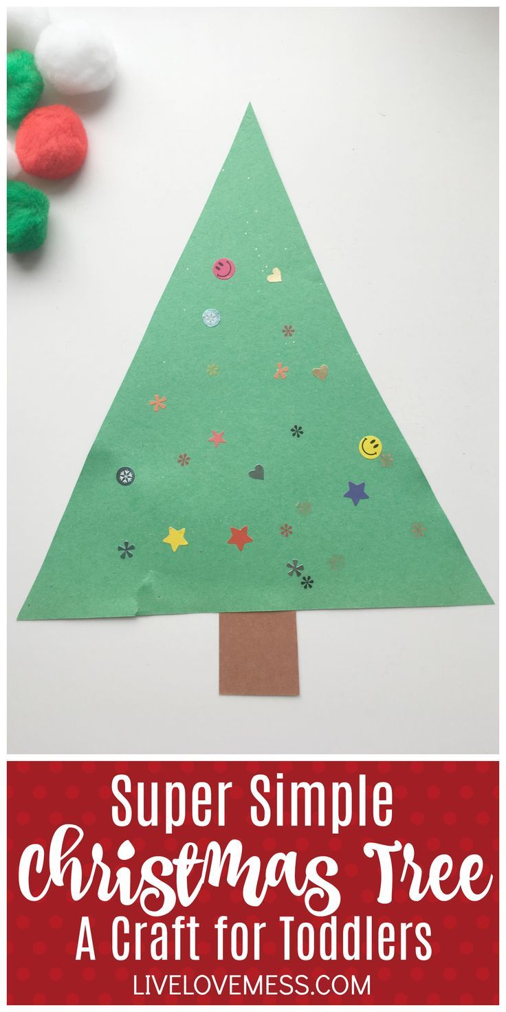 Super Simple Christmas Tree Craft For Toddlers Allie Kibler Christmas Activities Christmas Tree Crafts Christmas Activities For Kids
