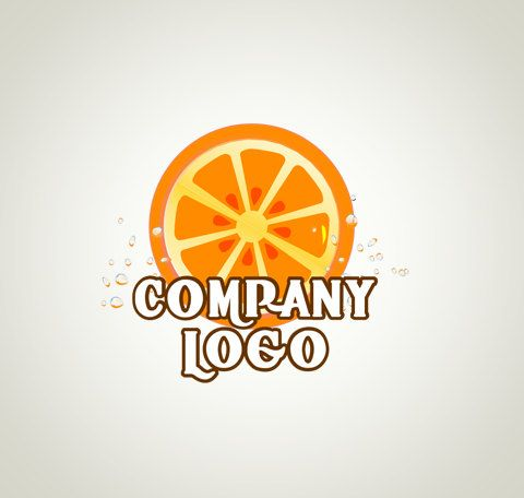 Logo Design OOAK Logo Premade Logo and Watermark Food Logo Fruit Logo Juice Logo Restaurant Logo by TheDesignsEnchanted