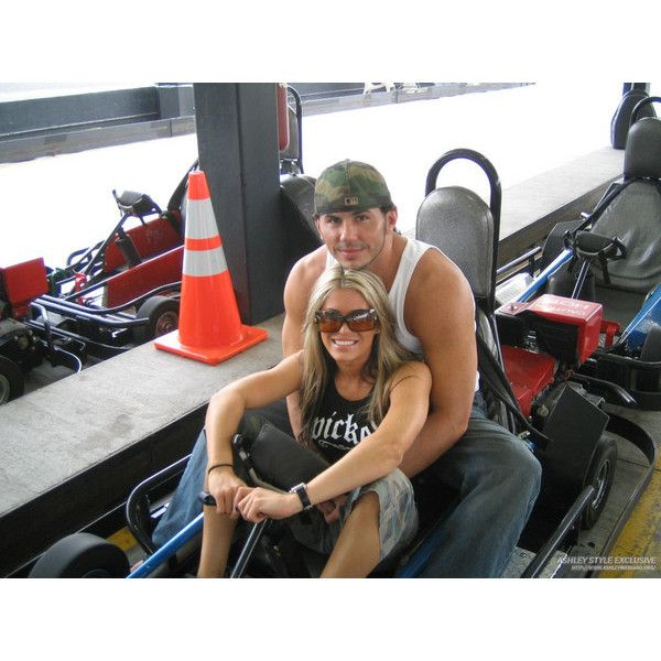 Matt Hardy & former girlfriend Ashley Massaro