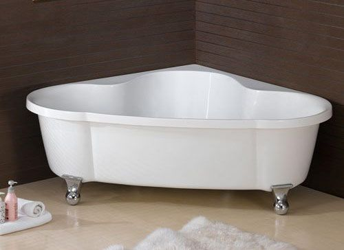 Lowe's Bathtubs Freestanding | Corner Clawfoot – $900.00 (+$450 shipping)