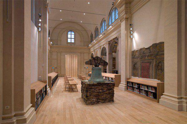 Biblioteca d'Arte e di Storia di San Giorgio in Poggiale, Bologna -  PROGETTO E DIREZIONE DEI LAVORI di restauro: arch. Francisco Giordano