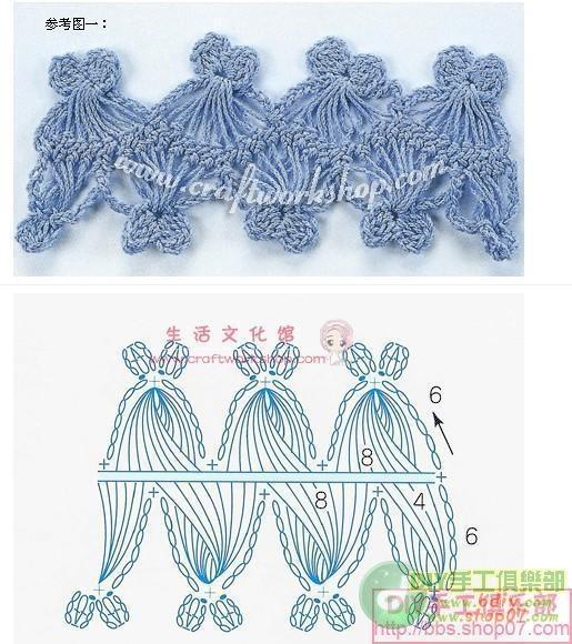 Hairpin lace crochet So pretty