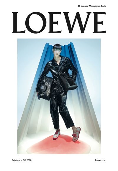 LOEWE 2016 Spring Summer Campaign Visual   Fashionsnap.com