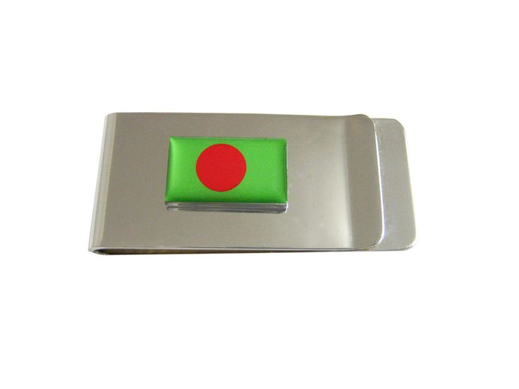 Bangladesh Flag Money Clip
