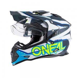O'neal Crosshelm/Endurohelm Sierra II Slingshot Blue