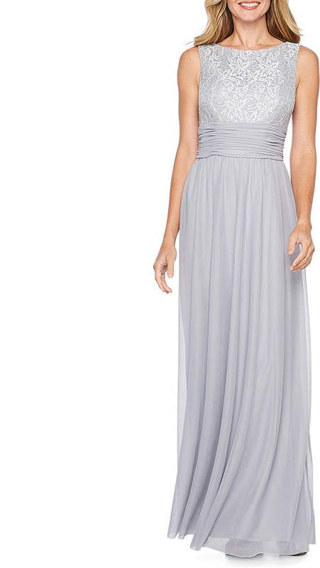 cbbf41fe415 JESSICA HOWARD Jessica Howard Sleeveless Evening Gown