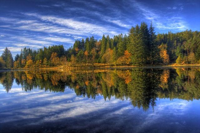 ノルウェーの幻想的なスクーマーカー・ディーケ湖。