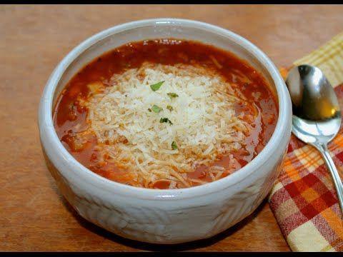 Instant Pot Pasta e Fagioli 1 pound mild Italian sausage 1C onion, diced (1…