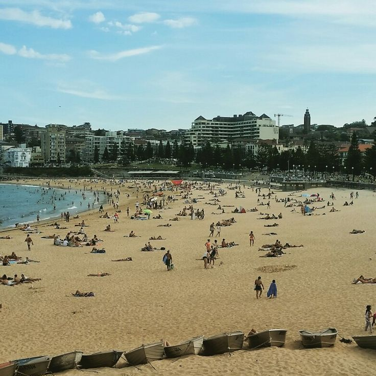 Coogee Beach in Coogee, NSW