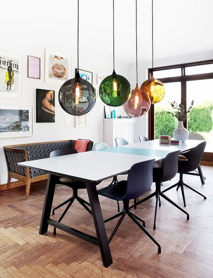 50 Ways To Re Imagine Your Dream Dining Spot. Colorful Dining RoomsSmall ...