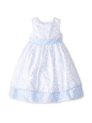 44% OFF Laura Ashley Girl's Ditzy Print Dress (Blue)