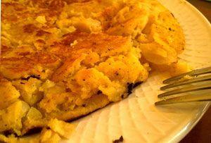 Тортилья с начинкой из орехов | Вкусные рецепты испанской кухни