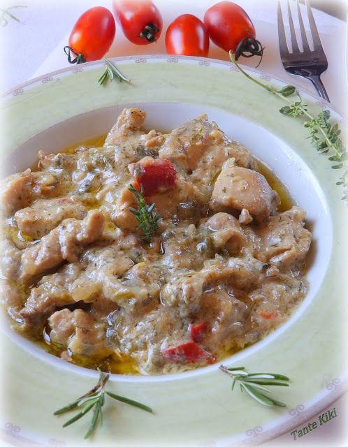 Tante Kiki: Η ...καλοκαιρινή, πράσινη κοτοτηγανιά με σάλτσα άν...