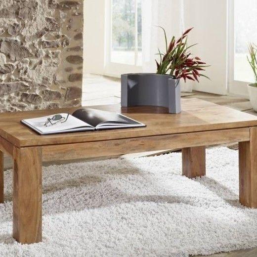 SHAMAN konferenčný stolík #10 agát, medová 115x60 cm