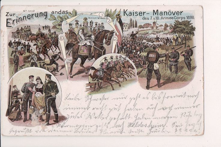 Nice Awesome Vintage Postcard Kaiser Wilhelm II, German Emperor King of Prussia Military WWI 2017 2018 Check more at http://24shopping.ga/fashion/awesome-vintage-postcard-kaiser-wilhelm-ii-german-emperor-king-of-prussia-military-wwi-2017-2018-5/