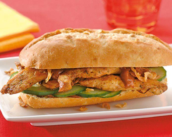 Kipsandwich recept