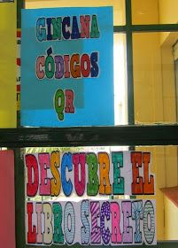 La maestra lee y comprueba la validez de los códigos y la información    Con motivo de la celebración del Día del Libro, hemos realizado...