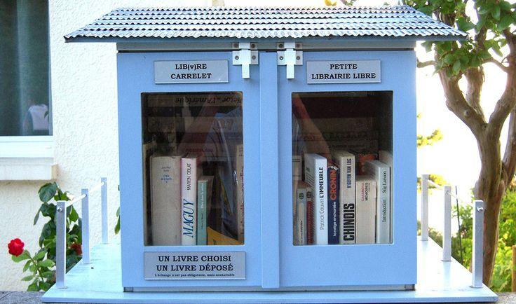 Construire une bibliothèque de rue