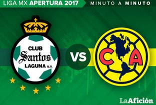 Santos vs América Liga MX en vivo MINUTO A MINUTO - Milenio.com