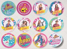 stickers de soy luna - Buscar con Google