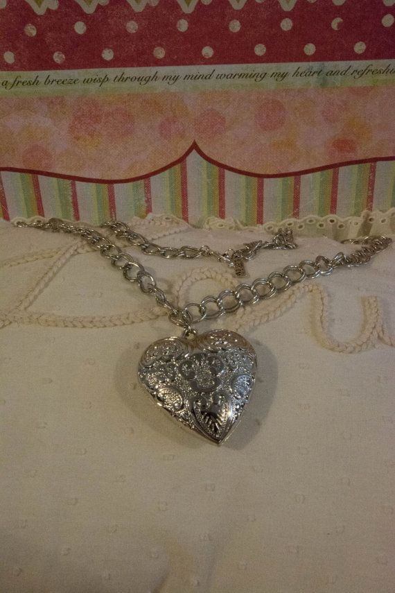 Jewellery Necklace Silver Heart