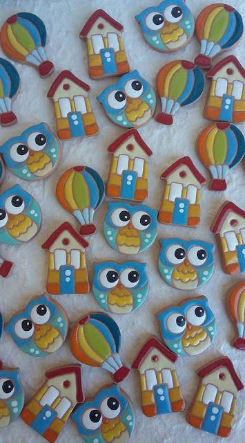 ceramica come mestiere: Magneti per bomboniera. Ceramica smaltata. Allegri e coloratissimi. Sole,gufo, mongolfiera casa...