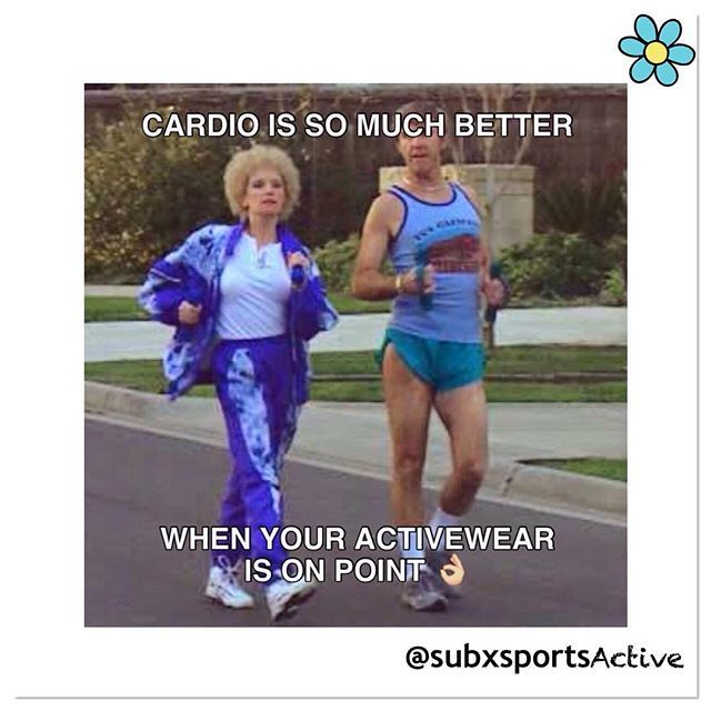 Yes!  @subxsports #subxsports #subxsportsactive #activewear #active #cardio #cardioworkout #onpoint #newactivewear #funny #saturday #weekend