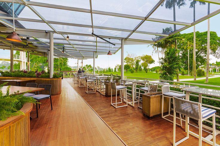 Interior Design   Sport Bar Project   Sport Stube Pondok Indah - Outdoor Dining Area
