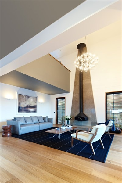 Perfect place to relax in winter! From episode 4 The Clovelly House in Grand Designs Australia s1.