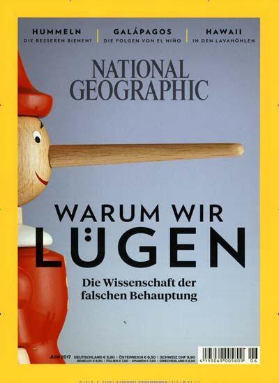 Warum wir Lügen 🤔  Jetzt in National Geographic Deutschland