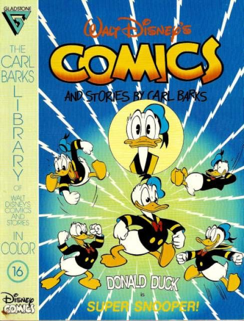 Carl Barks Library of Walt Disney's Comics and Stories in Color #16 (Issue)