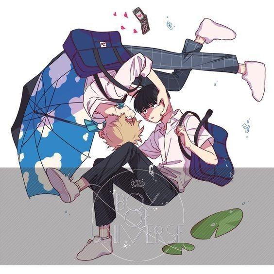 Mob Psycho 100: Kageyama Shigeo and Hanazawa Teruki