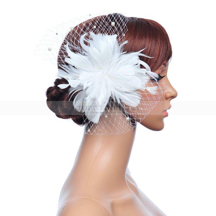 Fehér gyöngy haj fésű vel gyöngy részletek fs130228