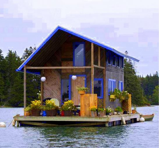 Living Off of the Grid: Amazing Float Cabins in British Columbia