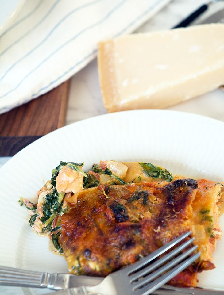 lasagne laks