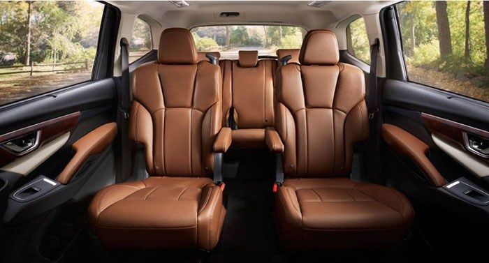 2019 Subaru Ascent Interior Seat Subaru The Row Subaru Cars