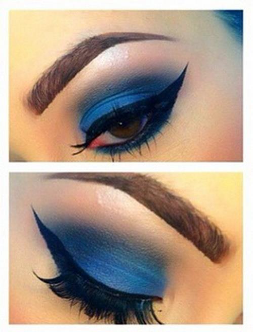 yellow dress eye makeup 3 eeks