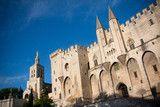 Photo : Palais des Papes à Avignon