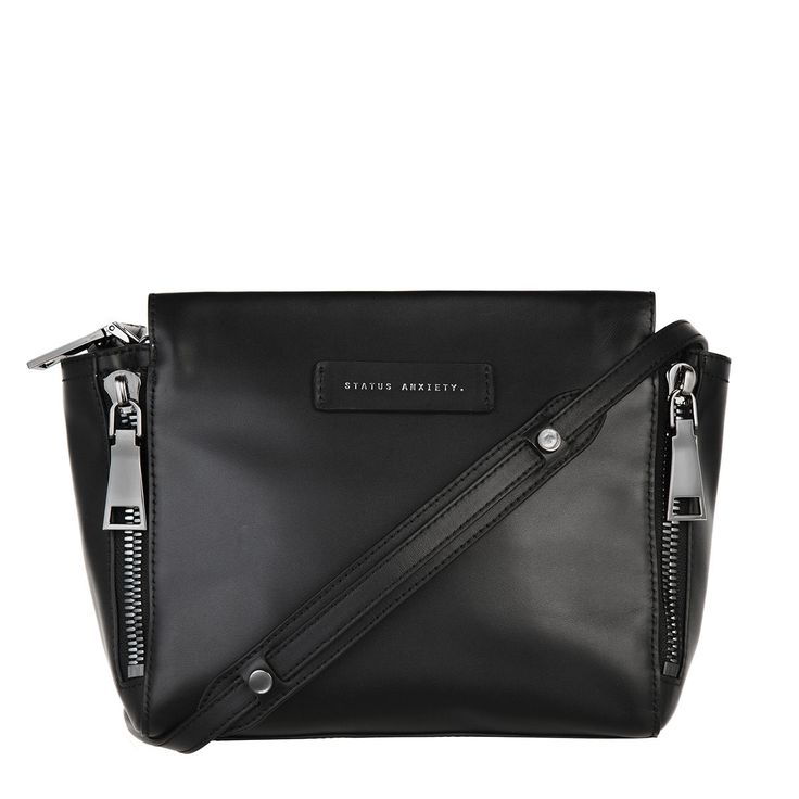 Status Anxiety - The Ascendant Bag In Black Leather