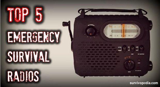 Top 5 Emergency Survival Radios via @Survivopedia
