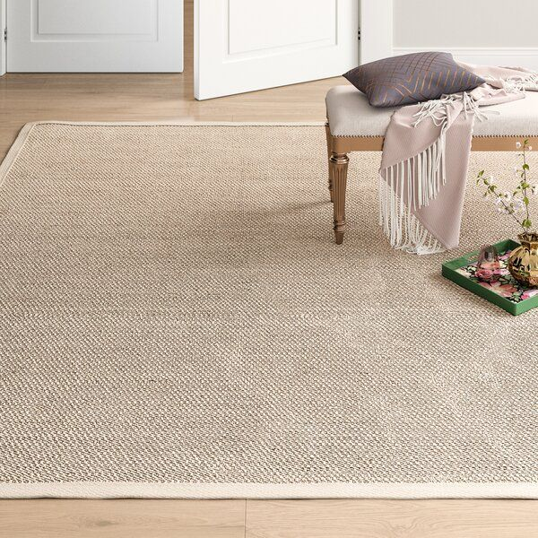 Tallowick Jute Sisal Area Rug With Images Area Rugs Rugs